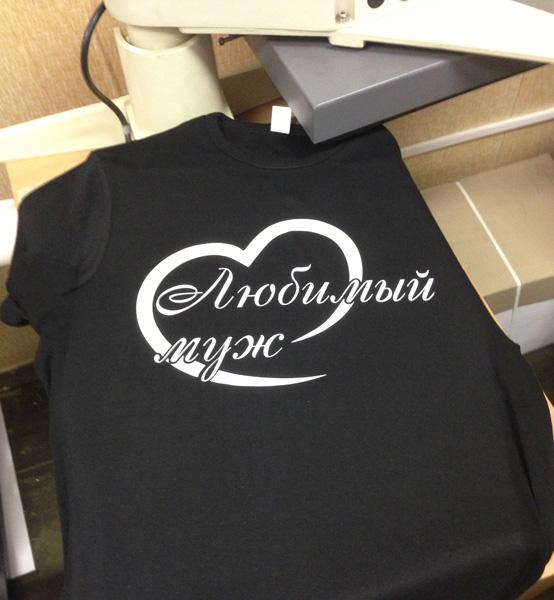 печать на всей футболке